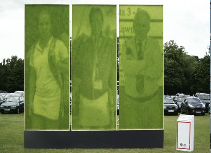 HSBC: Grass Art